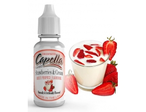Arôme Strawberry & Cream Capella